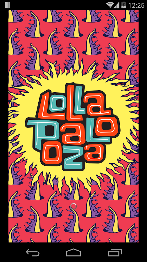 Lollapalooza Official 2014 App - screenshot