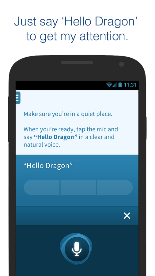 Dragon Mobile Assistant- screenshot