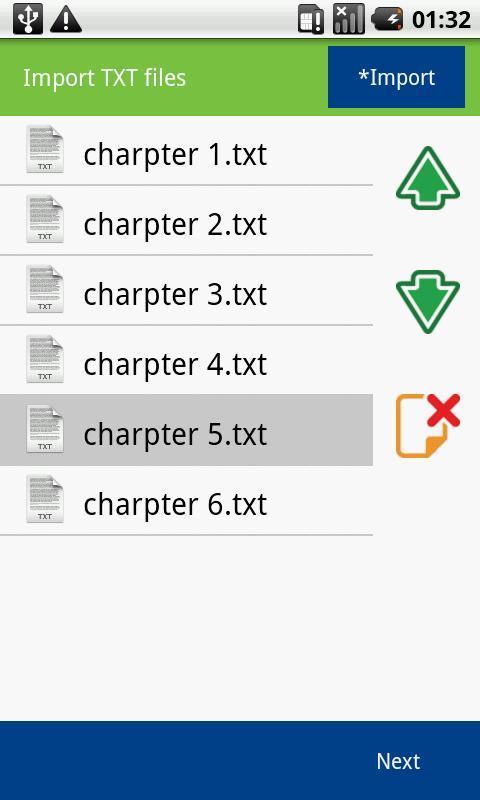 TXT2ePUB - screenshot