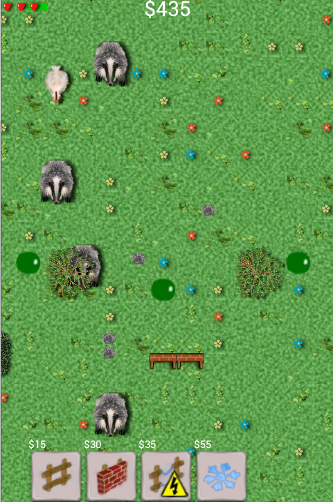 Badger Defence - screenshot