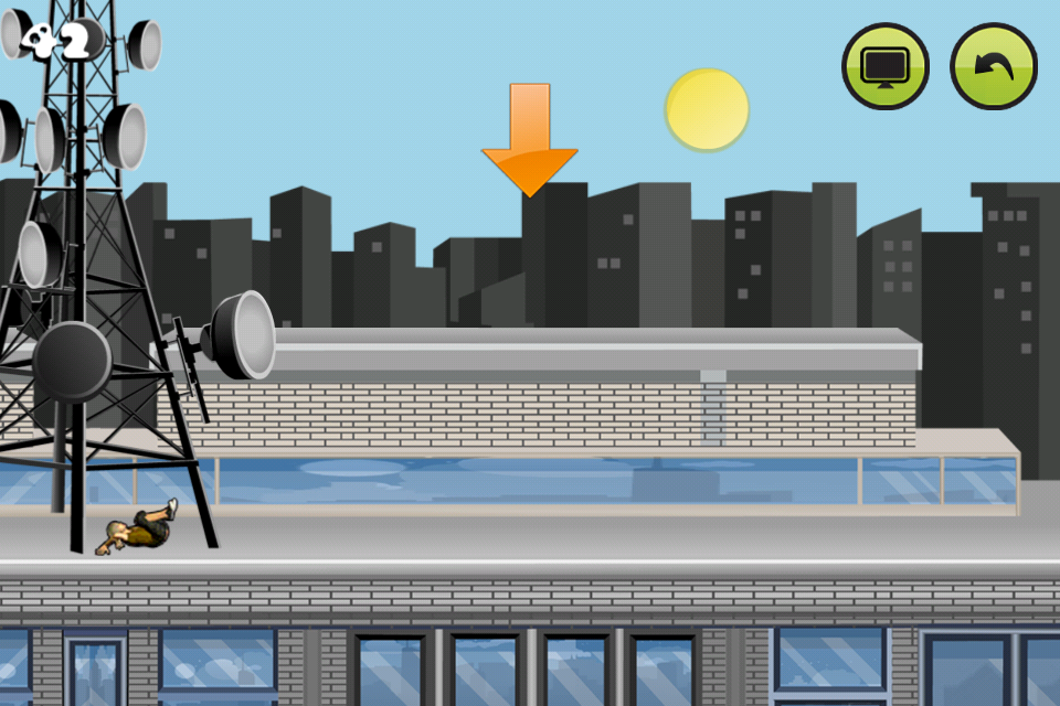 Parkour: Roof Riders- screenshot
