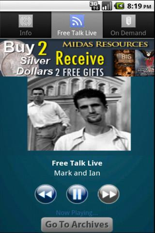 Free Talk Live - screenshot