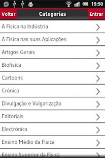 Gazeta de Física- screenshot thumbnail