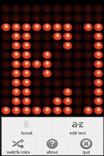 LEDroid free - LED ticker - screenshot thumbnail