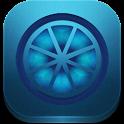 CM 10.2 - Blue Lime Theme Free icon