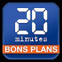 20 Minutes Bons Plans logo