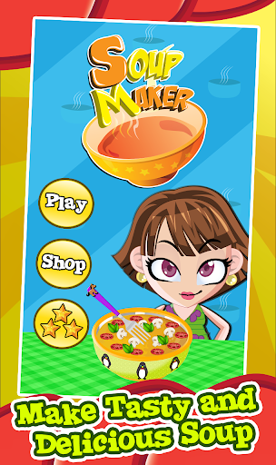 Soup Maker-Girls Cooking Game