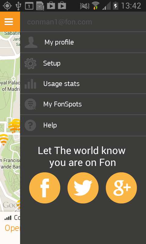 FON - screenshot