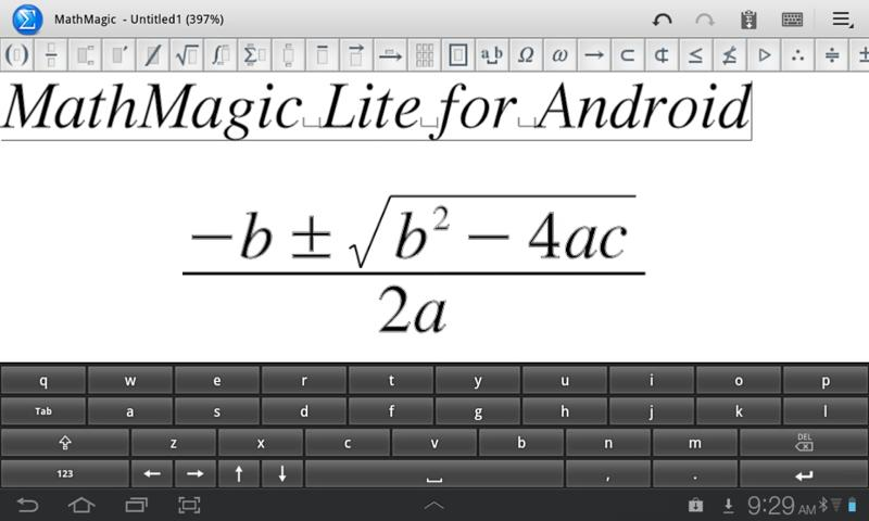 MathMagic Lite - screenshot