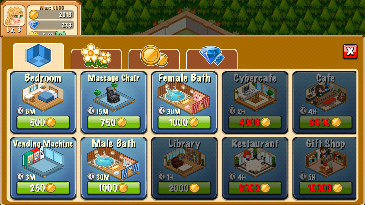 Screenshots of Hotel Story: Resort Simulation for iPhone