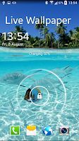 Screenshot of Fishes Live Wallpaper