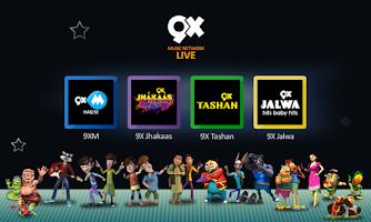 Screenshot of 9X Music