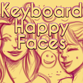 Keyboard Happy Faces