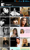 Screenshot of Popular Celeb Quotes