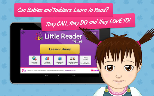 【免費教育App】Little Reader Touch-APP點子