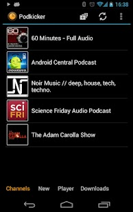 Podkicker Podcast Player