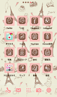 Screenshot of Cute wallpaper★milky paris