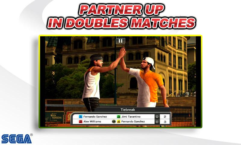 Virtua Tennis™ Challenge screenshot #6