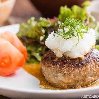 Wafu Hambagu (Japanese Hamburger Steak)