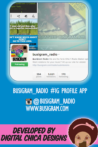 Busigram Radio on Instagram