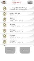Screenshot of MyDays X - Period & Ovulation™
