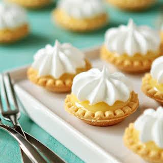 Mini Lemon Meringue Pies.