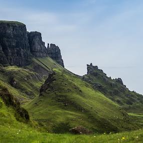 Quiraing prison by Nicole Williams - Novices Only Landscapes ( quiraing prison skye scotland )