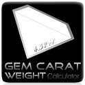 Gem Carat Weight Calculator icon