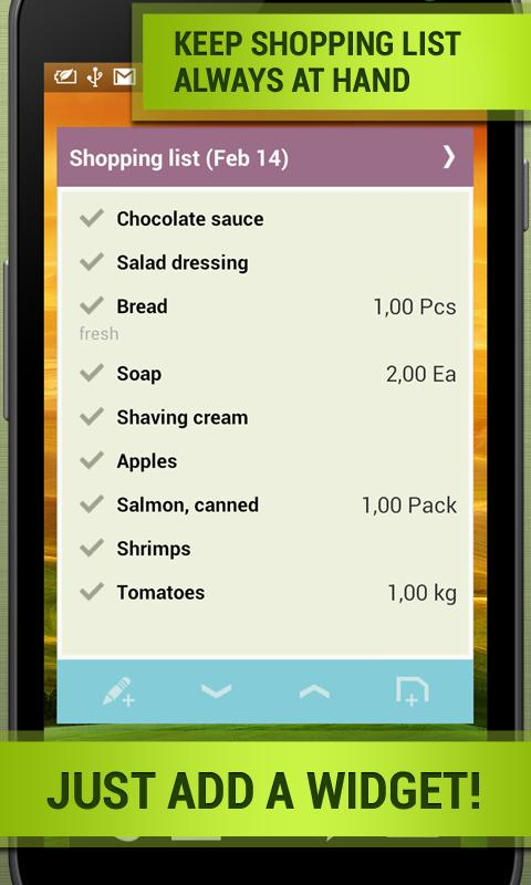 Grocery Shopping List: Listick - Android Apps On Google Play