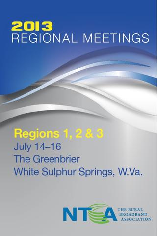 NTCA Regions 1 2 3 Meeting