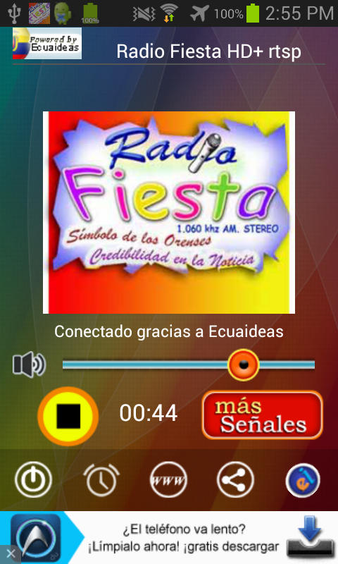 Radio Fiesta Machala- screenshot
