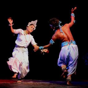 dancers by Priyojit Singh Akoijam - People Musicians & Entertainers
