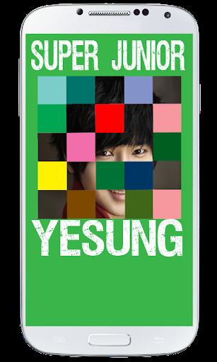 Yesung SuJu Puzzle