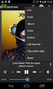 Spotimote for Spotify