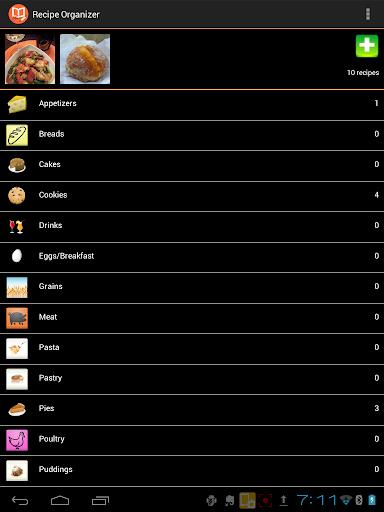 【免費生產應用App】Recipe Organizer-APP點子