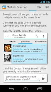 Tweet Lanes - screenshot thumbnail