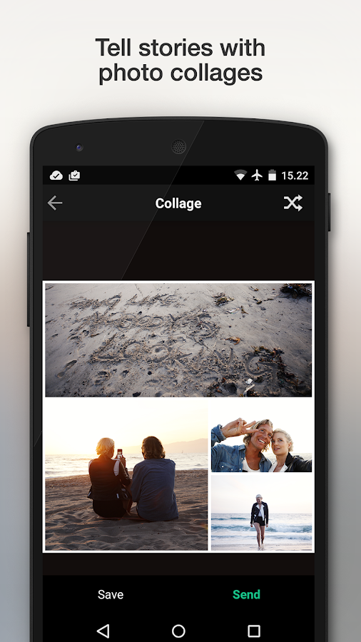 Camu - Camera for perfect pics- screenshot