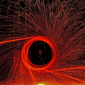steel wool photography by Axle Ethington - Abstract Light Painting ( steel wool, long exposure, night, light, photography )