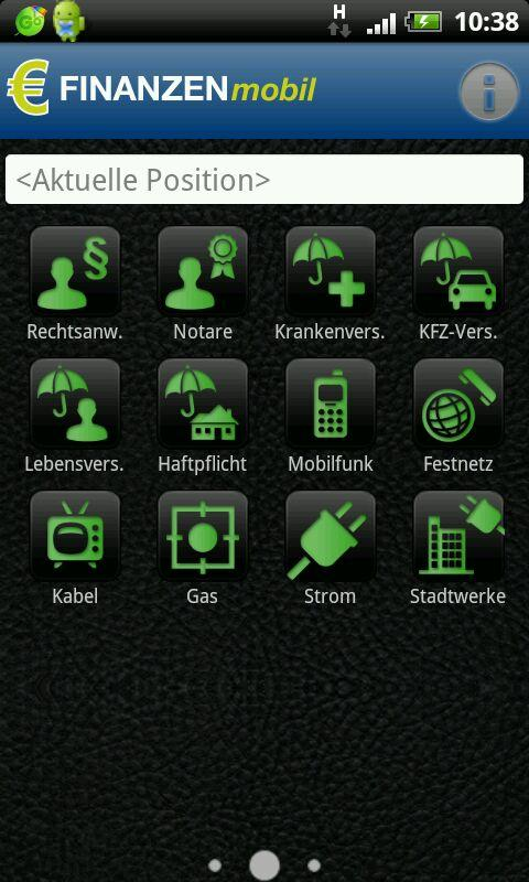 FINANZEN mobile- screenshot
