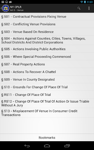 【免費書籍App】2014 NY CPLR-APP點子