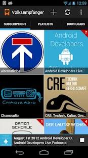 Volksempfänger (alpha)- screenshot thumbnail