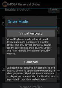 MOGA Universal Driver- screenshot thumbnail