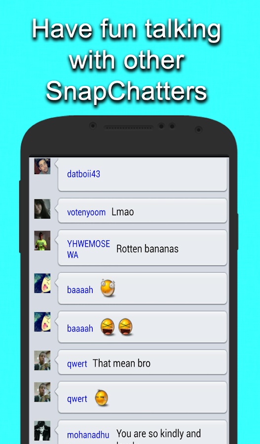 Chat Room For Snapchat Android Apps On Google Play