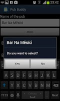 Screenshot of Pub Buddy - beer counter