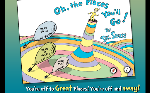 玩書籍App|Oh, the Places You'll Go!免費|APP試玩