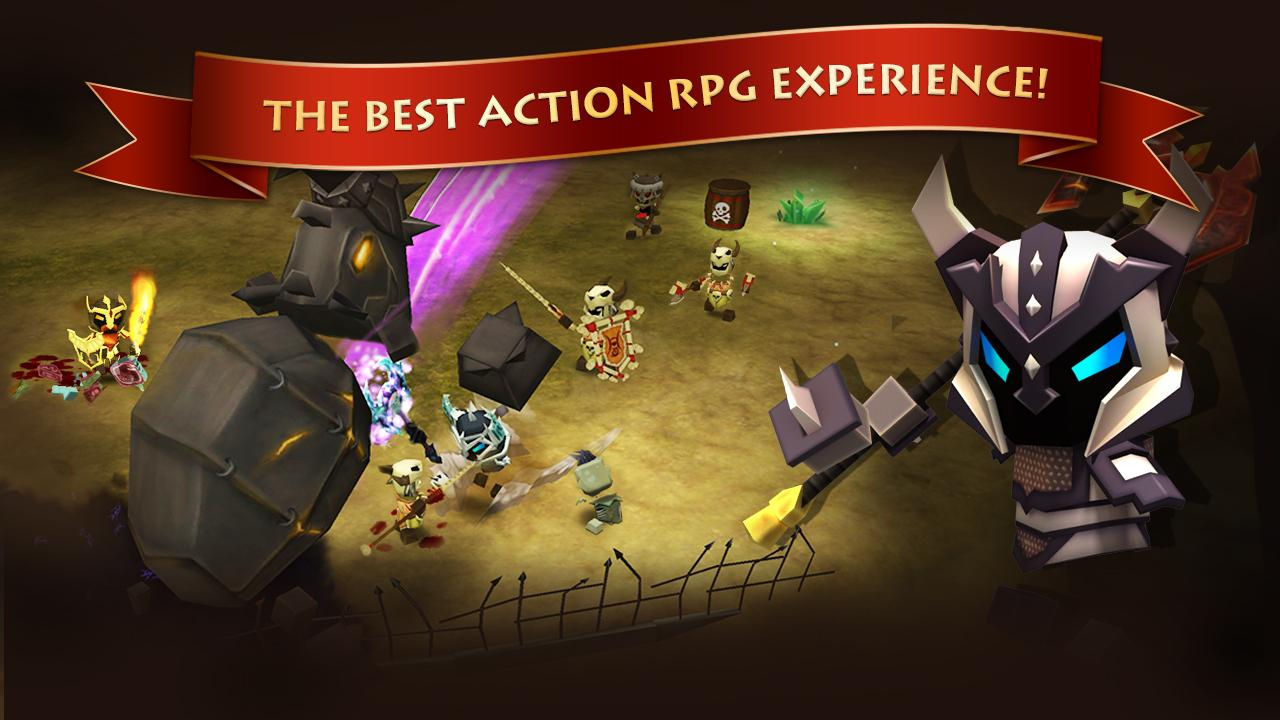 Elements: Epic Heroes - screenshot