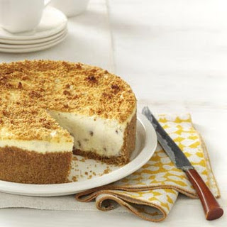 Butter Pecan Cheesecake.