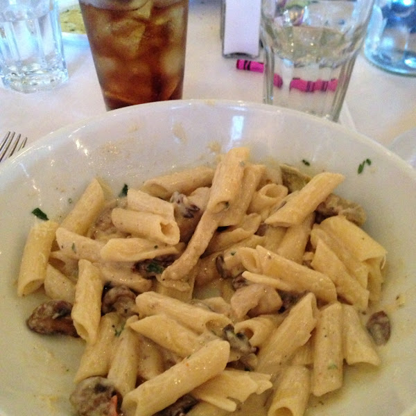 Wonderful pasta add on choices!
