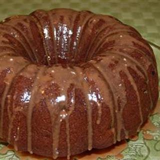 Banana Raisin Cake.