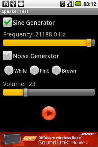 Speaker Test   Android Apps on Google Play Google Play Speaker Test  screenshot